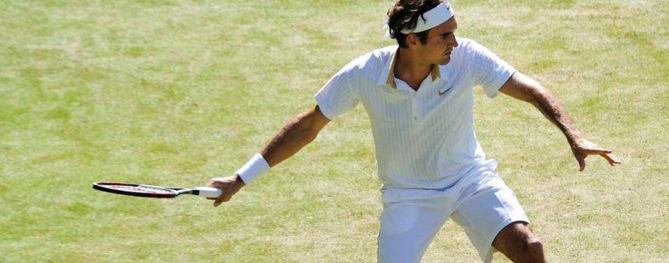 De beste tennishouding